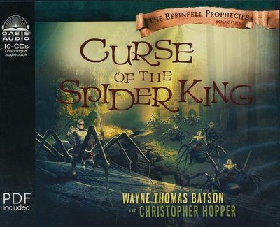 #1: Curse of the Spider King: Unabridged Audiobook on CD  -     By: Thomas Wayne Batson, Christopher Hopper