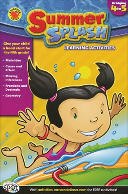 Summer Splash Learning Activities Grade 4-5   -