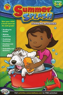 CD-704208 Summer Splash Learning Activities Grade 5-6  -