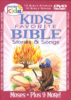 Kids Favorite Bible Stories & Songs: Moses   -     By: Wonder Kids