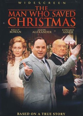 The Man Who Saved Christmas DVD   -