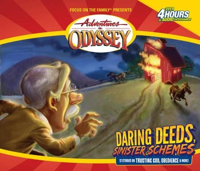 Adventures in Odyssey® #5: Daring Deeds, Sinister Schemes   -