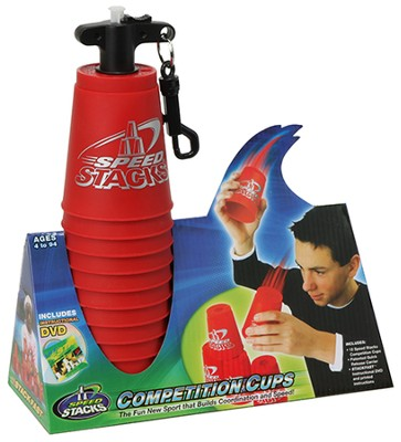 Speed Stack Competition Cups, Red  -