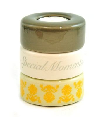 Stacking Candle Holder, Special Moments, Friends, Purple   -