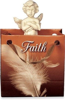 Angel-to-Go, Faith, Gift Bagged  -