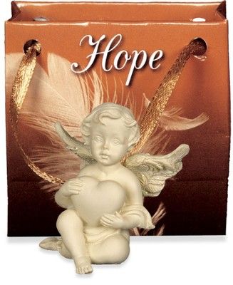 Angel-to-Go, Hope, Gift Bagged  -