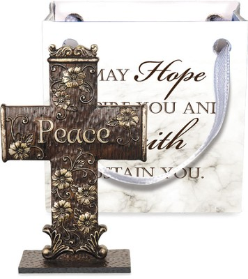 Cross-to-Go, Peace, Gift Bagged  -