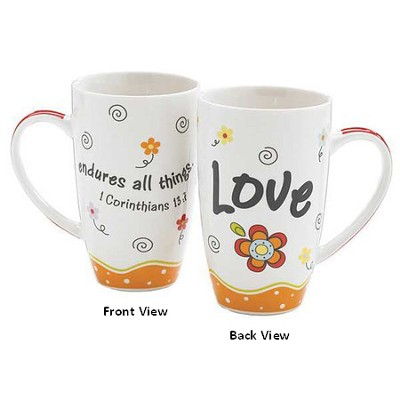 Love Endures All Things Mug  -