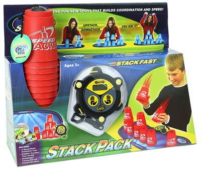 Speed Stacks Stackpack, Red  -