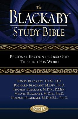 Blackaby Study Bible: Personal Encounters with God Through His Word - eBook  -     Edited By: Henry Blackaby