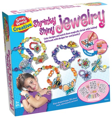 Shrinky Shiny Jewelry  -