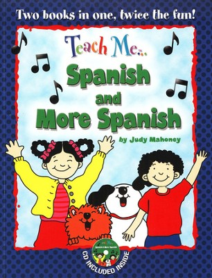 Teach Me Spanish & More Spanish Paperback & Audio CD  -