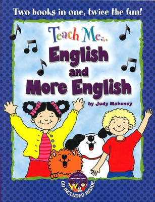 Teach Me English & More English Paperback & Audio CD  -