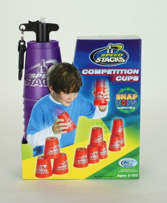 Speed Stack, Competition Cups, Metallic Purple  -