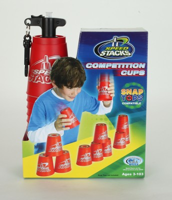 Speed Stack, Competition Cups, Red  -