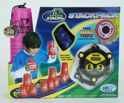 Speed Stack, Stackpack, Metallic Pink  -