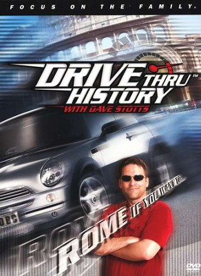 Drive Thru History with Dave Stotts #1: Rome If You Want To,  DVD  -     By: Dave Stotts, Jim Fitzgerald
