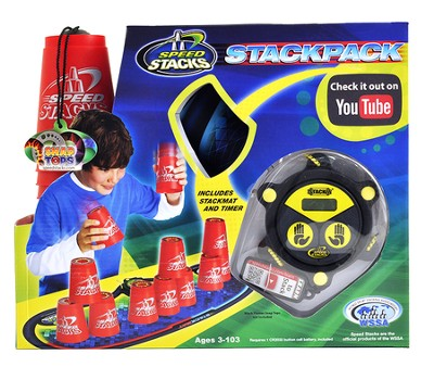 Speed Stack, Stackpack, Red  -