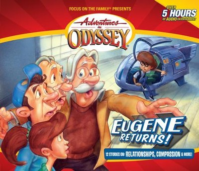 Adventures in Odyssey® 560: The Present Long Ago   [Download] -
