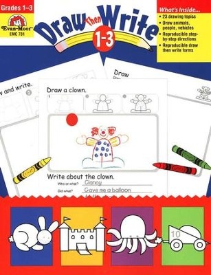 Draw. . . Then Write, Grades 1-3   -     By: Jo Ellen Moore