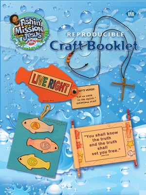 Fishin' on a Mission with Jesus: Reproducible Craft Booklet - Slightly Imperfect  -