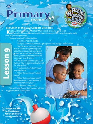 Fishin' on a Mission with Jesus: Primary Student Folders  -