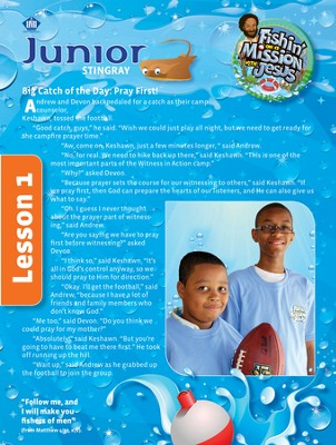 Fishin' on a Mission with Jesus: Junior Student Magazine  -