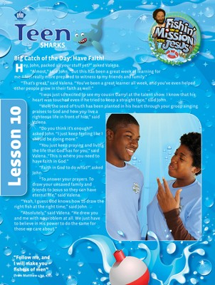 Fishin' on a Mission with Jesus: Teen Student Magazine  -