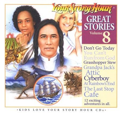 Great Stories Volume 8 CD Album Your Story Hour  -