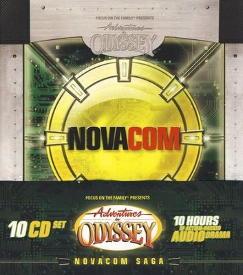 Adventures in Odyssey®: Novacom Saga 10-CD Set with CD-ROM  -     By: Focus on the Family