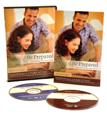 Be Prepared: Equipping Kids to Face Today's World (DVD & CD-ROM)   -     By: Focus on the Family