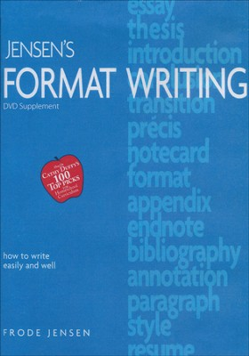 Jensen's Format Writing: DVD Supplement   -