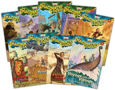 Adventures in Odyssey The Imagination Station ® Series Volumes 1-9  -