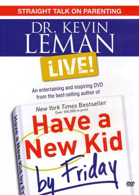 Dr. Kevin Leman LIVE! Straight Talk on Parenting -DVD  -     By: Dr. Kevin Leman