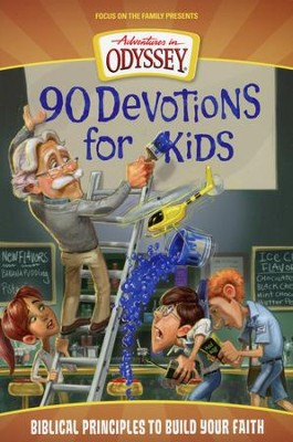Adventures in Odyssey® 90 Devotions for Kids   -     By: AIO Team