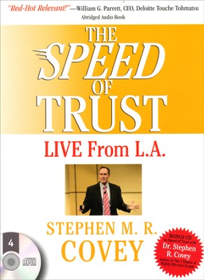 Speed of Trust - Live From LA, The - abridged audiobook on CD  -     By: Stephen M.R. Covey