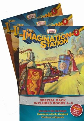 Adventures in Odyssey The Imagination Station ® - Volumes 4 - 6  -     By: Paul McCusker, Marianne Hering