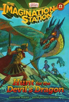 Adventures in Odyssey Imagination Station Book: #11, Hunt for the Devil's Dragon  -     By: Marianne Hering, Wayne Thomas Batson