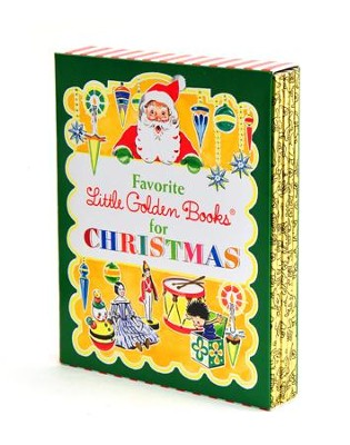 5 Favorite Little Golden Books for Christmas  -