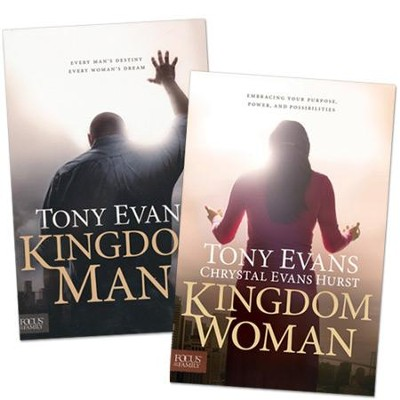 Kingdom Man/Woman, 2 Volumes   -     By: Tony Evans