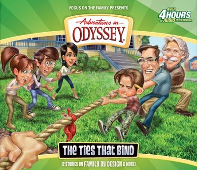 Adventures in Odyssey ® #58: The Ties That Bind  -