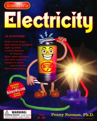 Science Wiz Electricity Kit    -     By: Penny Norman Ph.D.