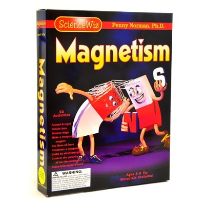 Science Wiz Magnetism Kit   -     By: Penny Norman Ph.D.