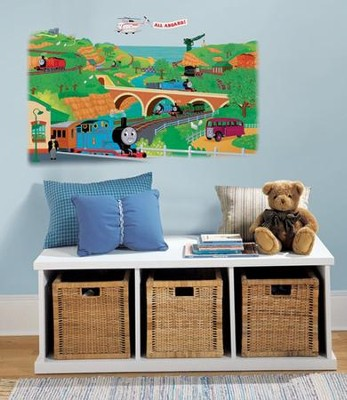Thomas the Train, Vinyl Wall Stickers, Large  -