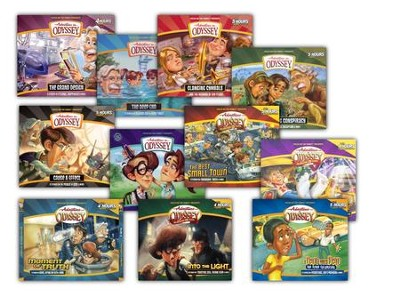 Adventures in Odyssey ® Audio Pack #4 (#46-56)  -