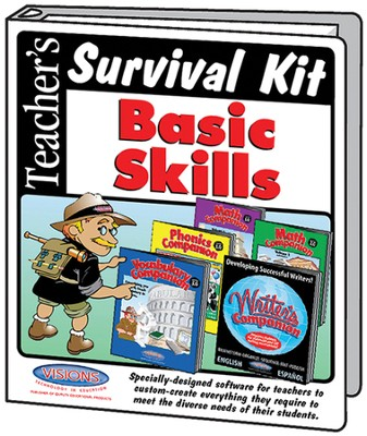 Teacher's Survival Kit Basic Skills Bundle (5 CD-Roms & 5 Books)  -     By: Arnie Uretsky
