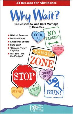 Why Wait? 24 Reasons for Abstinence, Pamphlet - 5 Pack   -