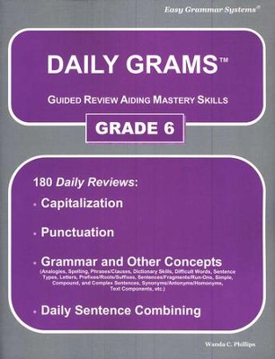 Daily Grams Grade 6   -     By: Wanda Phillips