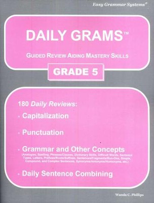 Daily Grams Grade 5   -     By: Wanda Phillips