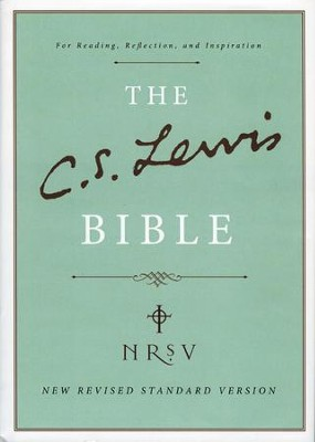 The C.S. Lewis Bible, NRSV  - Slightly Imperfect  -